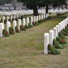 Wreaths veterans Spring Grove Cemetery