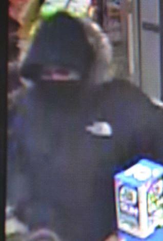 Robber surveilance image