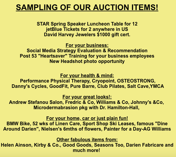 Sampling of Auction Items at Wine and Food Tasting Chamber event 2018