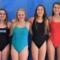 DHS Varsity Girl Divers Dive Team 2018-2019
