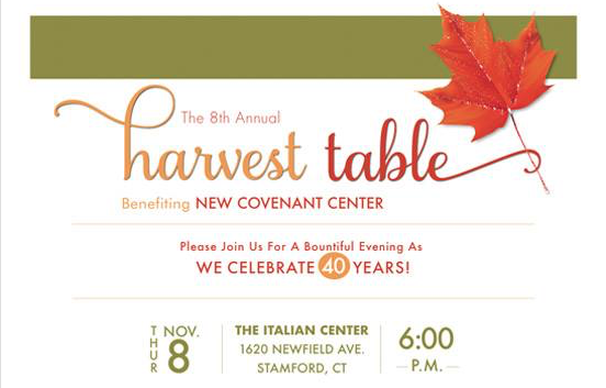 Harvest Table fundraiser 2018 graphic for facebook and story