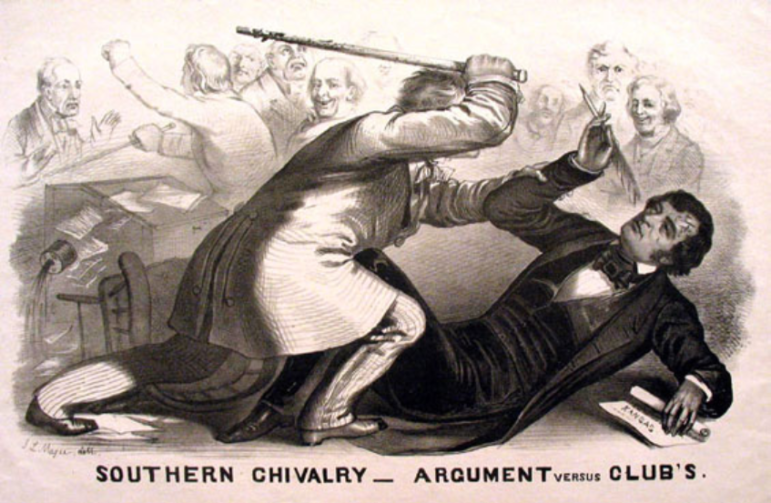Charles Sumner Caning