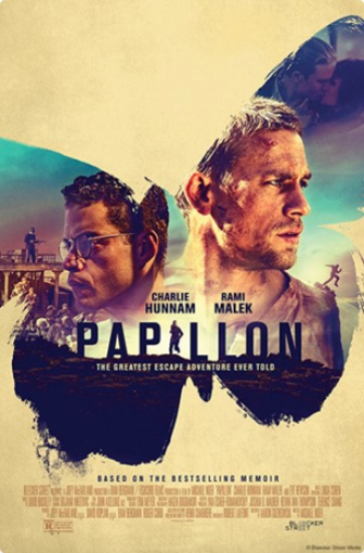 Movie Poster film Papillon