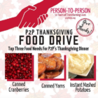 Person to Person Thanksgiving Food Drive 2018