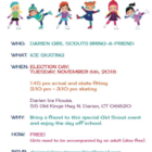 Girl Scouts Bring a Friend Day Nov 2018 Darien Ice House