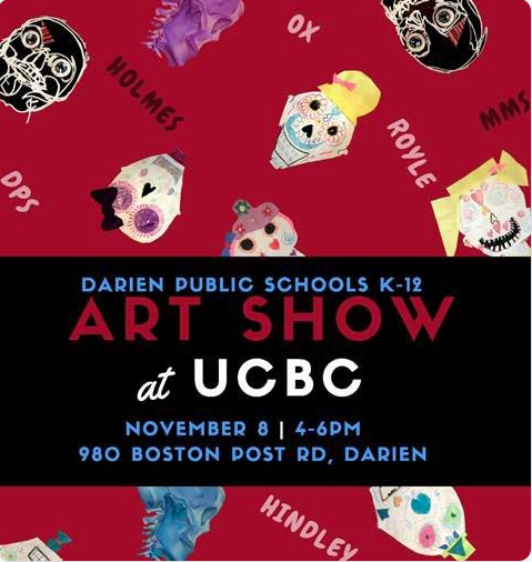 K-12 art show at Upper Crust Bakery & Co. Darien