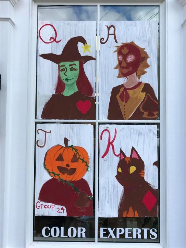 Fourth window Halloween Window Decorating Contest
