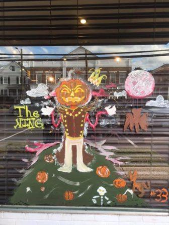 Window three Halloween contest 2018