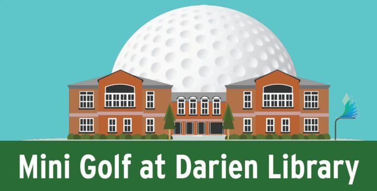 Mini Golf at Darien Library 800 x 407