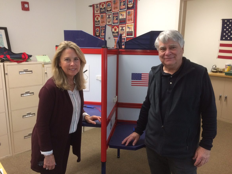 Voting Stations John Visi Susan Gray Registrars Elections