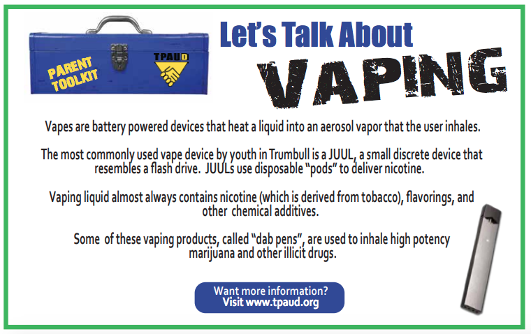 Trumbull Partnership Against Underage Drinking & Drugs (TPAUD) 2