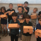 Wood Shop class Darien Parks and Rec 2018