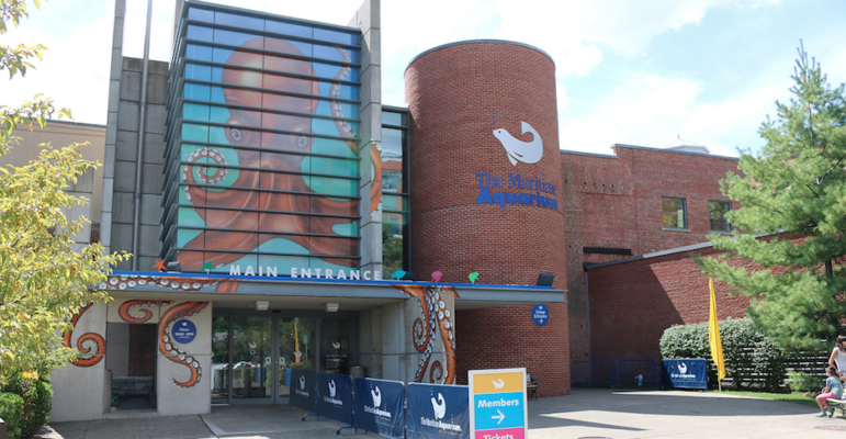 Main Entrance Maritime Aquarium
