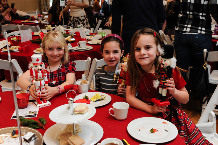 Mother-Daughter Nutcracker Tea Darien Community Association Christmas Christmastime 2018