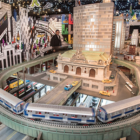 Holiday train show at New York Transit Museum in Grand Central 2018