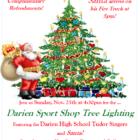 Darien Parks and Rec Tree Lighting Darien Sport Shop 2018