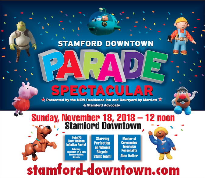 Stamford Downtown Parade Spectacular poster