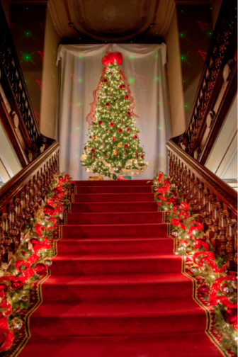 Lockwood-Mathews Mansion Museum Christmas