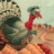 Turkey driving Thanksgiving