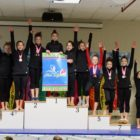 Darien YMCA Gymnastics Team