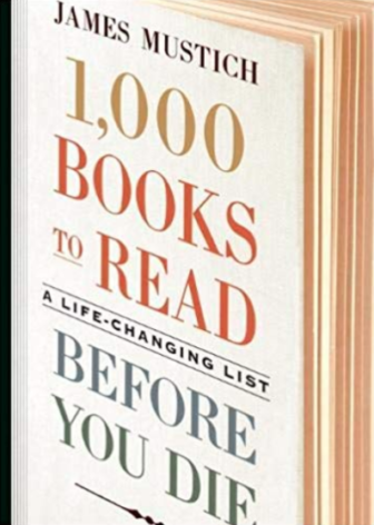 1,000 books to read before you die by James Mustich