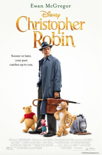 Movie poster for Christopher Robin 2018