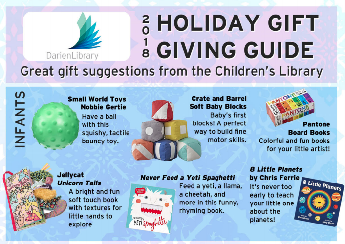 Darien Library Christmas Gift Guide 2018