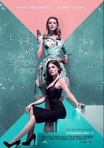 A Simple Favor movie poster 2
