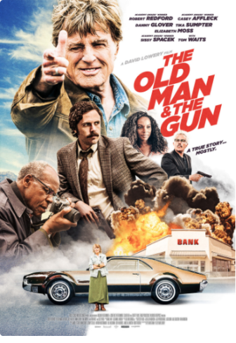 The Old Man and the Gun 2018 movie poster