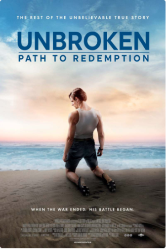 Unbroken: Path to Redemption 2018 movie poster