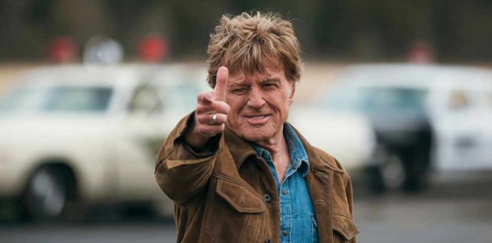Publicity photo for The Old Man and the Gun 2018 with Robert Redford Facebook size and thumbnail