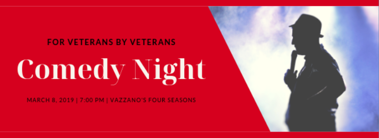Homes for the Brave Comedy Night March 8 2019