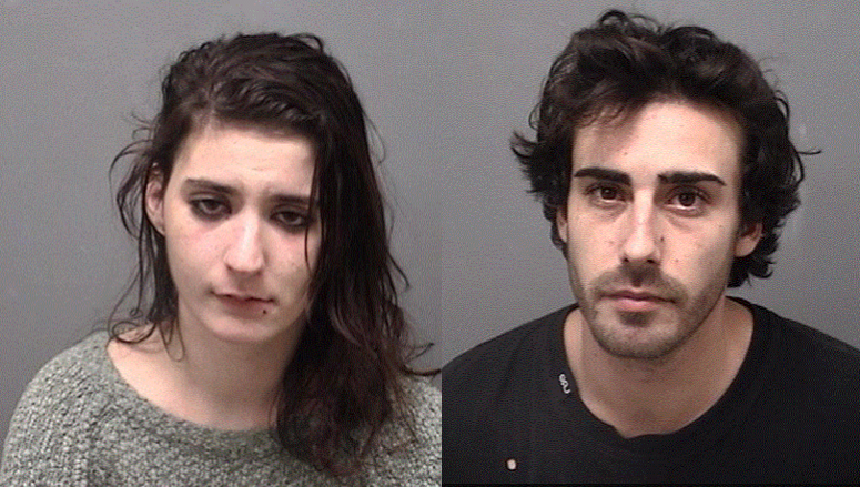 Police: Man and Woman, Both in 20s, Found with Stolen Phone