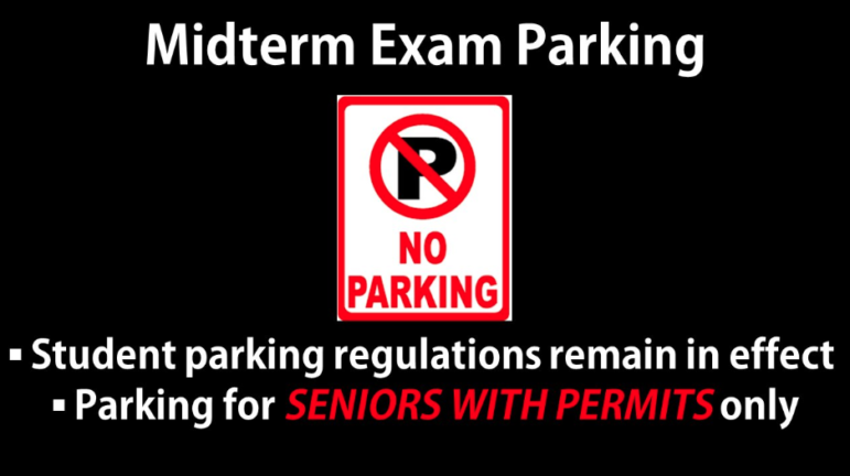 DHS midterms 2019 parking