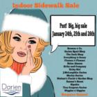 Indoor Sidewalk Sales 2019