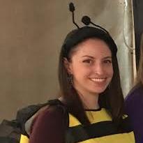 Bee suit person Darien Pollinator Pathway event