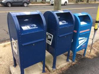 Mailboxes new anti-theft Darien Post Office