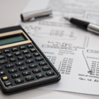 Tax Preparation Calculator Paperwork Form