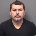 Nelson Berganza mug shot Darien PD arrest Feb 14, 2019