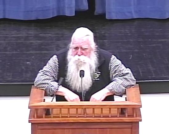 Joe Warren at podium