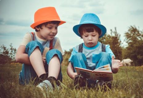 Children reading dyslexia