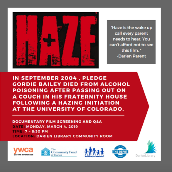 Haze documentary publicity poster 2019 showing