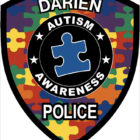 Darien Police Autism Awareness magnet
