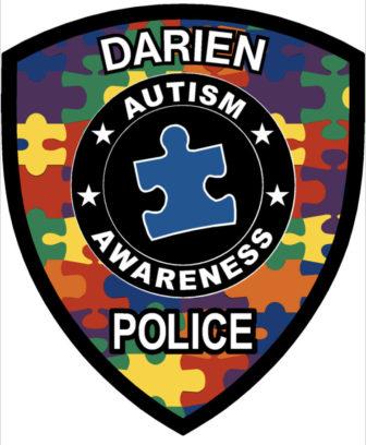 Darien Police Autism Awareness magnet