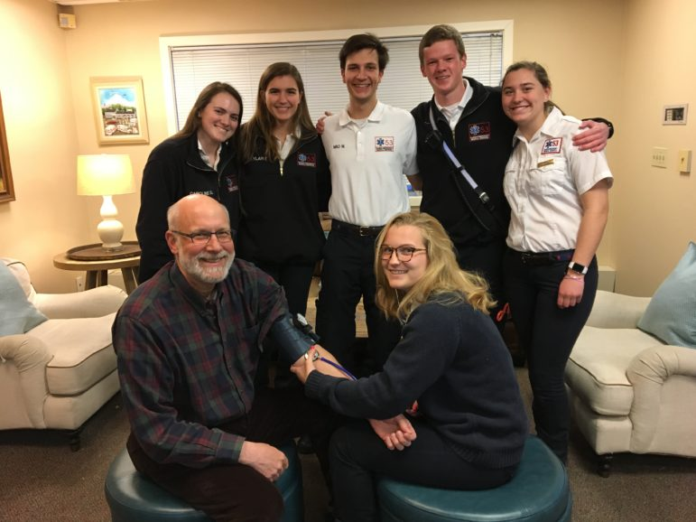 Darien EMS Post 53 at upcoming Darien Rotary health fair March 21 2019
