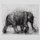 Susan Siegel Elephant Silvermine Arts Paper 2019 exhibit