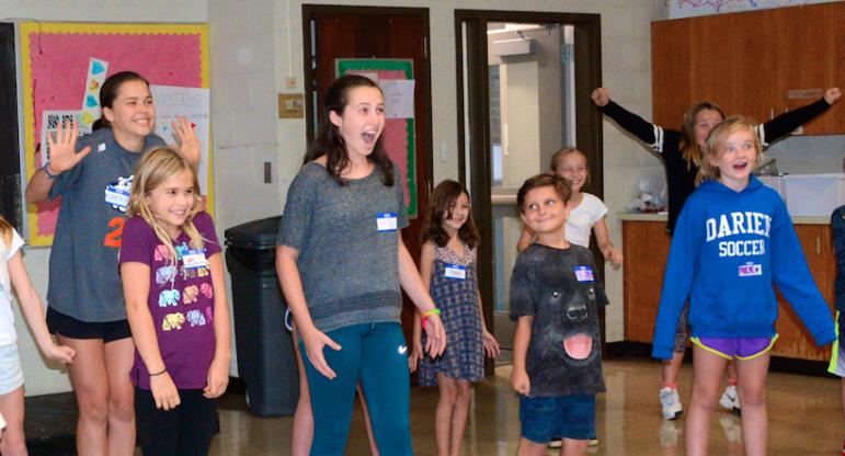 Kids in the Cast class 2019 Darien Arts Center