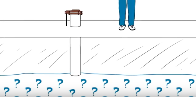Image from CT DPH video on private wells testing