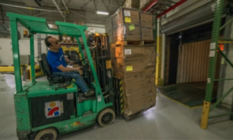 Americares warehouse aid