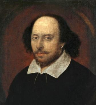 John Taylor portrait of William Shakespeare